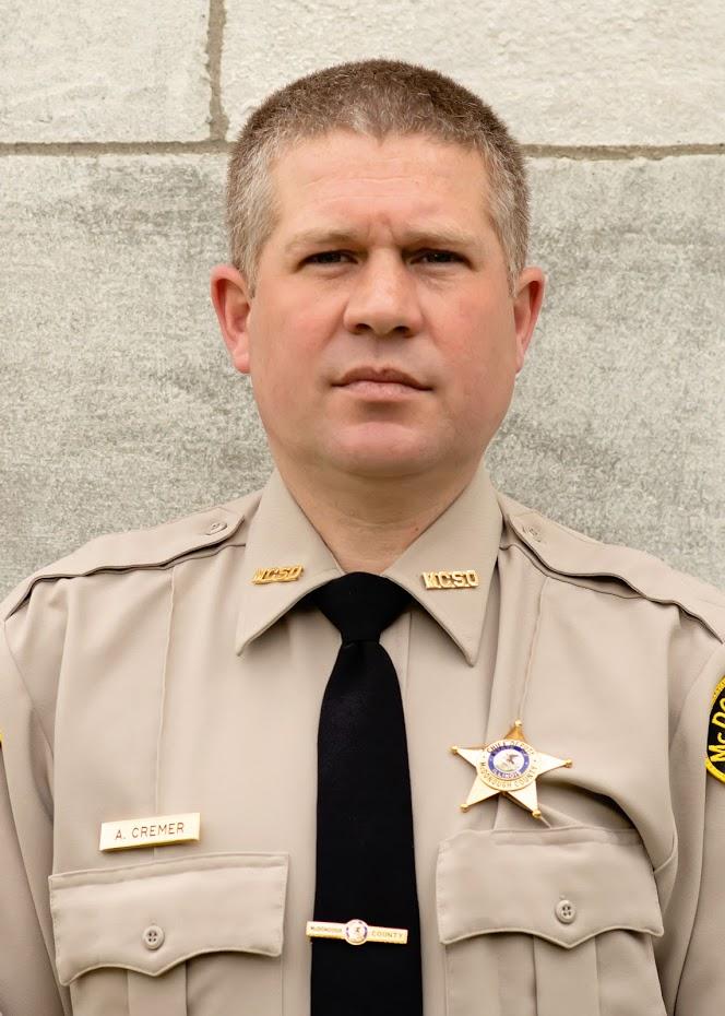 Cheif Deputy Adam Cremer